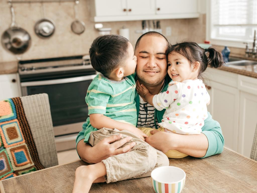 Experts have praised the focus on programs that support  fathers.