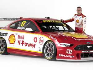 McLaughlin reveals Mustang livery as title defence nears