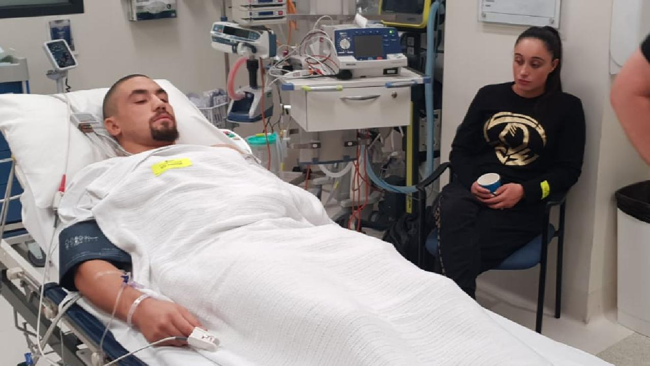 Rob Whittaker was struck down by a freak condition.