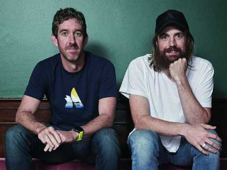 Australia's top tech billionaires Scott Farquhar and Mike Cannon-Brookes have been outspoken against the broad nature of the powers. Picture: Harold David