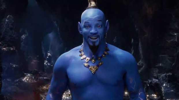 Will Smith as Genie in Aladdin.