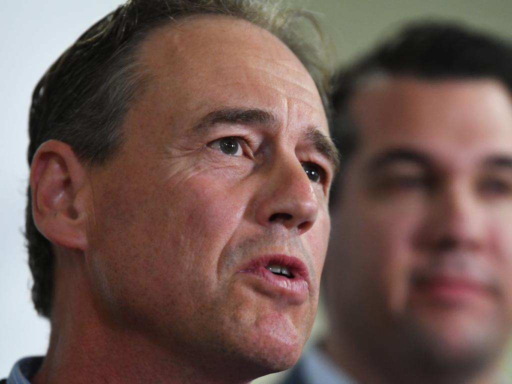 Federal Health Minister Greg Hunt says the mental health of parents  is paramount. Picture: AAP