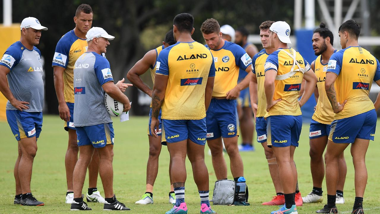 Parramatta have been here before, way too often. (AAP Image/Dan Himbrechts)