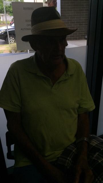 FOUND: Elderly Man David Ball was found alive near Nanango after his vehicle broke down.