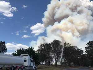 Fire at Wallangarra