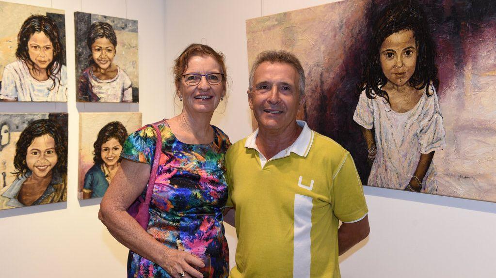 Hervey Bay Regional Gallery - exhibition opening of