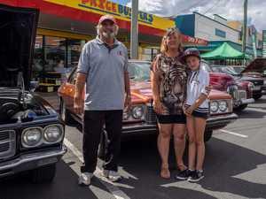 Moonshine Rally Mark Bertram, Lyn Bertram, Tayla