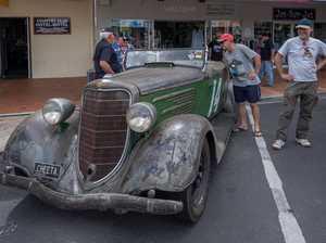 Moonshine Rally cars