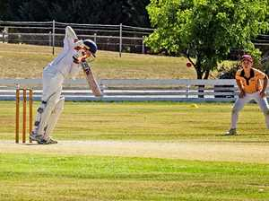 Stanthorpe juniors played rep cricket at C.F White