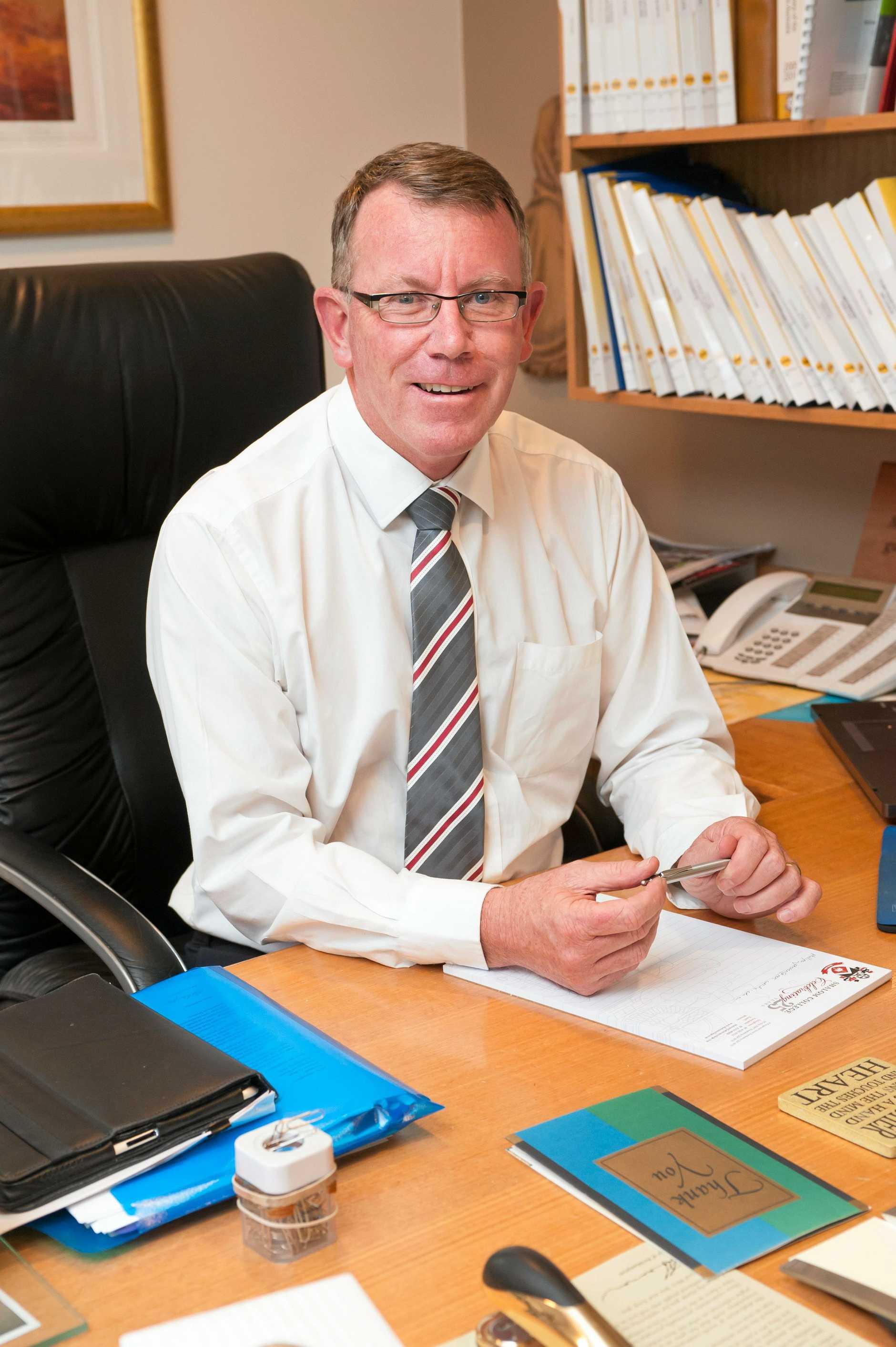 READY: Shalom College principal Dan McMahon.