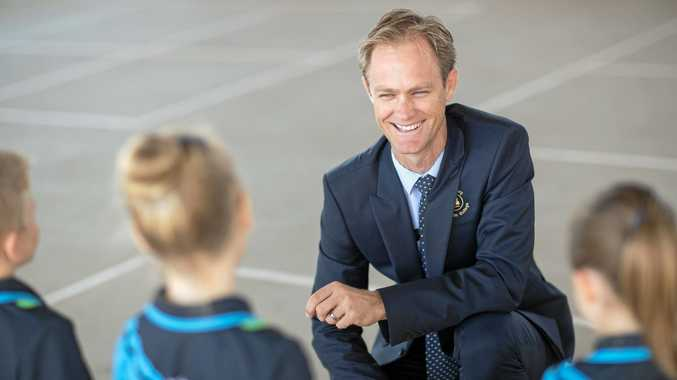 Bundaberg Christian College principal Paul Sterling is excited by the dedication shown by college students.