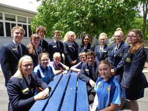 Bundaberg State High School students reaching for the stars