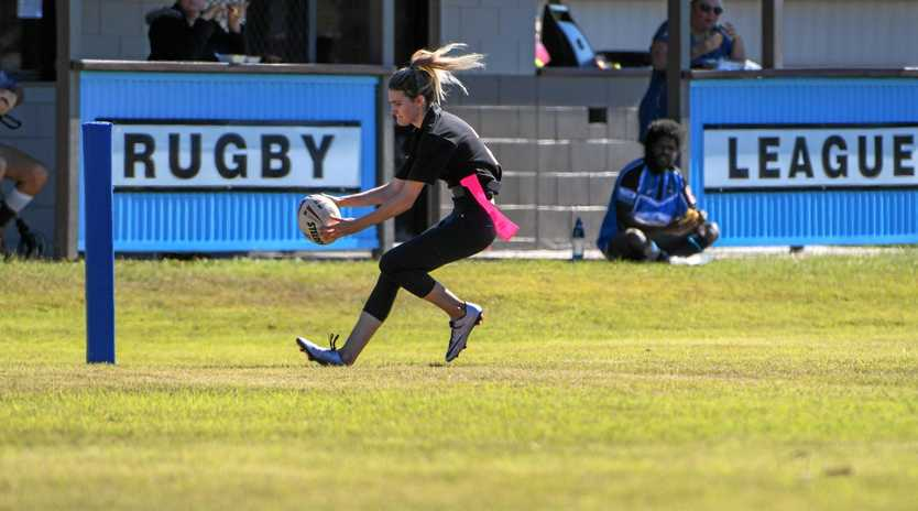 Avondale's Shona Green scores last year. The league tag is returning with more games and potentially more teams.
