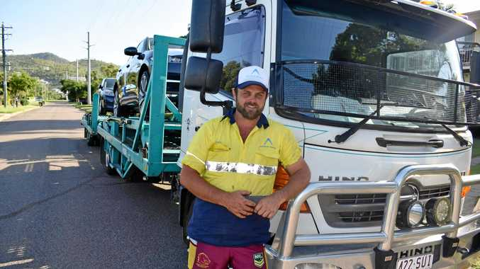 COMMUNITY-MINDED: Steve Gurney was overwhelmed by the reaction to his gesture during the floods.