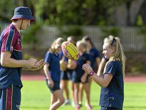 Lions impress Toowoomba students
