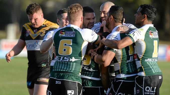 WE GO AGAIN: The Jets continue their 2019 Intrust Super Cup preparations with a trial match against Sunshine Coast Falcons this weekend.