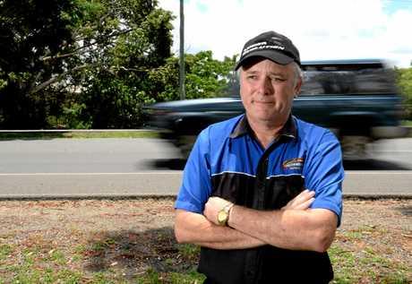 Driving instructor Leyland Barnett.