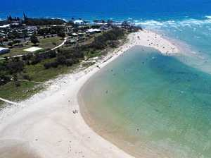 Foreshore works begin at one of Bundy's best beaches
