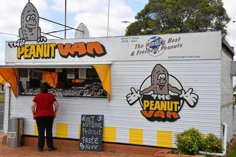 Kingaroy's Peanut Van as it stands in 2019.
