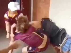 Gympie High responds to brutal bashing video