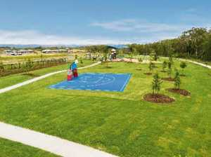 Million-dollar park and lake opens to public
