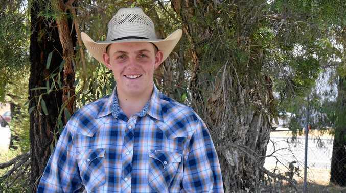 YOUNG AMBASSADOR: Will Howard is competing for Warwick Junior Rural Ambassador 2019.