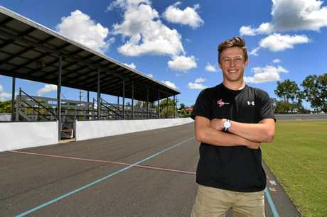 New Zealand cyclist Corbin Strong is in Bundaberg for the Auswide Bank International Cycling Spectacular.
