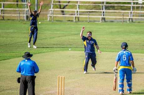 cricket  - Gympie vs Nambour - Jake Vidler Gympie