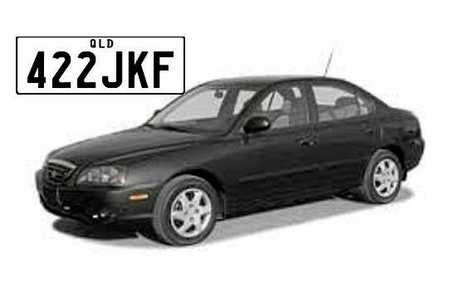 Car the 17-year-old was last seen in.