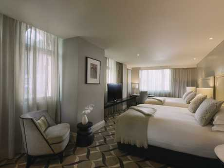 Deluxe room at the Mayfair.
