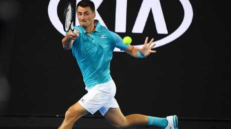 Yes, Bernard Tomic is still out there. (Quinn Rooney/Getty Images)