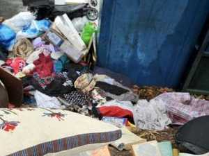 Smelly rubbish disease risk