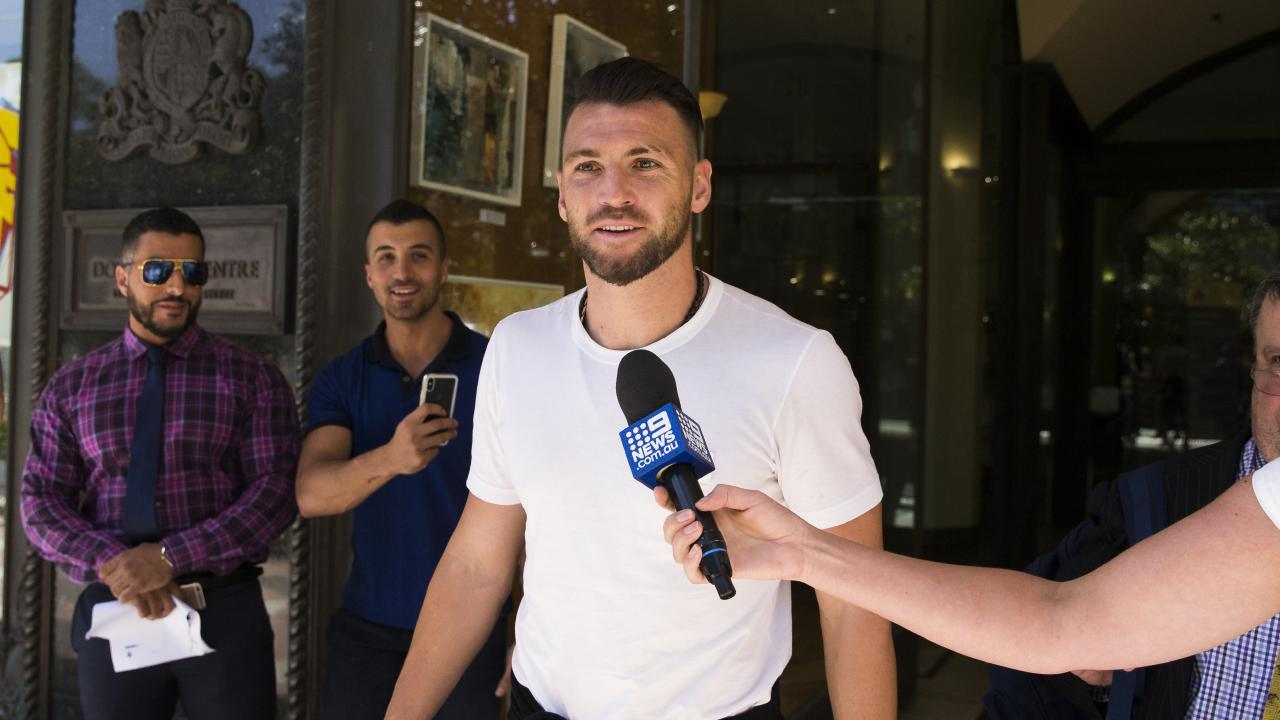 Marko Simic attended Downing Centre Court in Sydney.