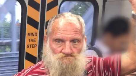 Robert John Fardon after he was released. Photo 9 News Queensland
