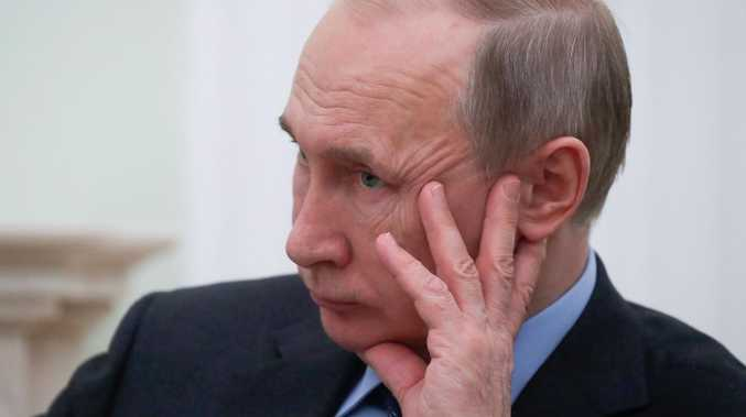 Russian President Vladimir Putin has ordered his nation's internet service providers to reroute all traffic through state-controlled junctions. Picture: AFP