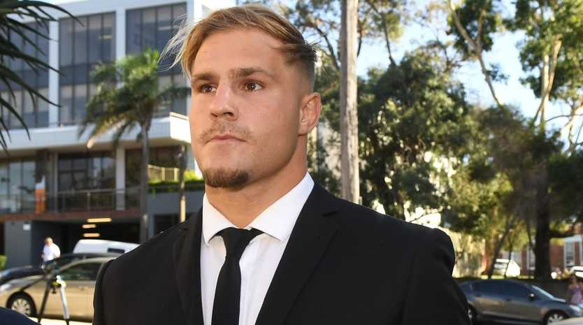 Jack de Belin pleaded not guilty.