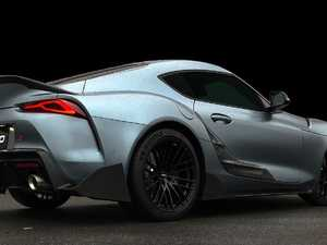 Extreme look for new Toyota Supra TRD