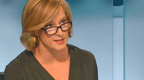 """Leigh Sales: """"It's a pretty simple question""""."""