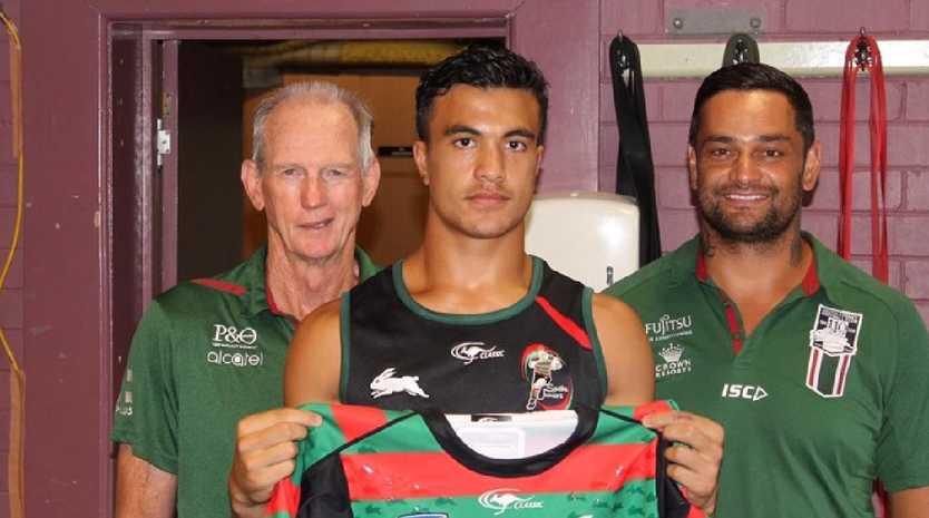 Joe Suualii is one of the most promising sportsmen in Australia