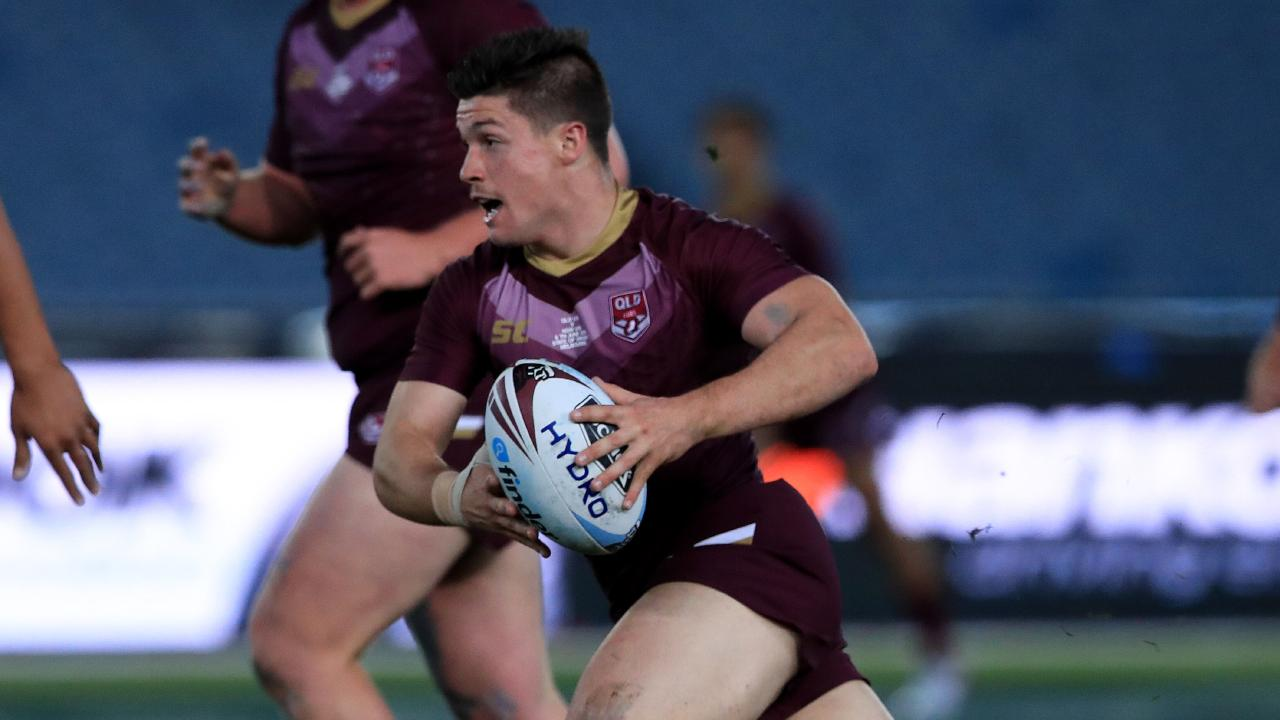 Cory Paix in action for QLD U18s. Picture: Adam Head