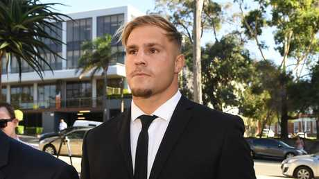 Jack de Belin faced Wollongong Local Court on Tuesday. (AAP Image/Dean Lewins)