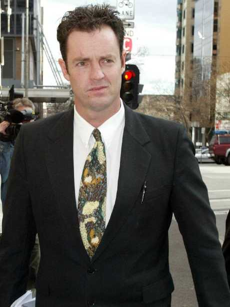 David Miechel outside the Victorian Supreme Court in Melbourne. File picture