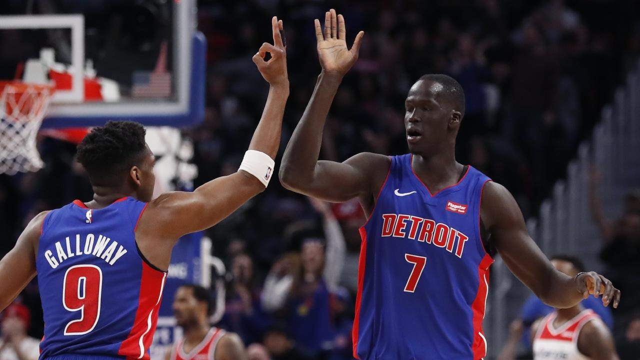 Thon Maker found his groove.