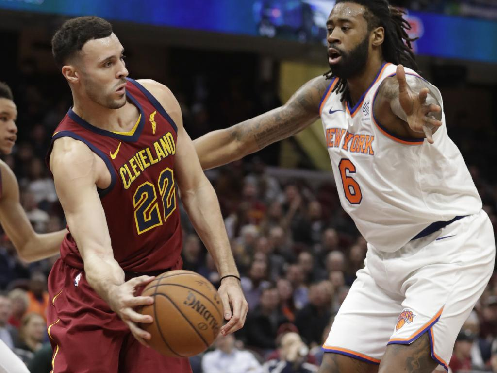 The Cavs heaped more misery on the Knicks.