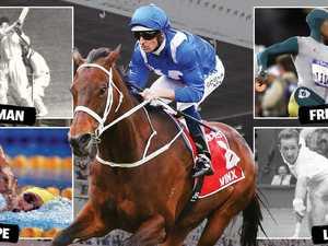 Winx immortalised alongside Aussie greats