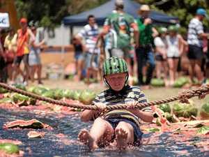 Festival fanatics are keen to get stuck into Melon Festival