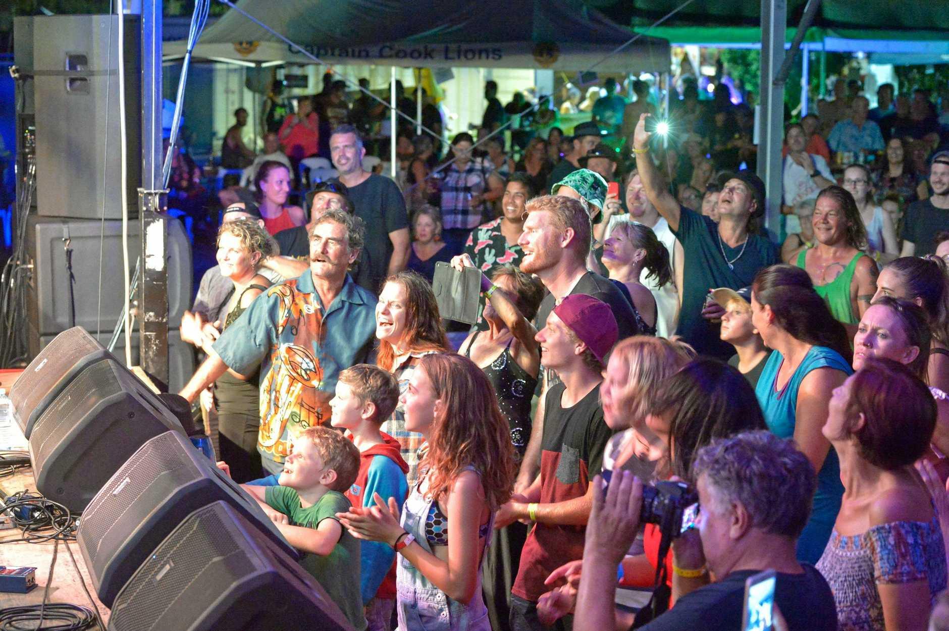 Agnes Blues, Roots & Rock Festival.