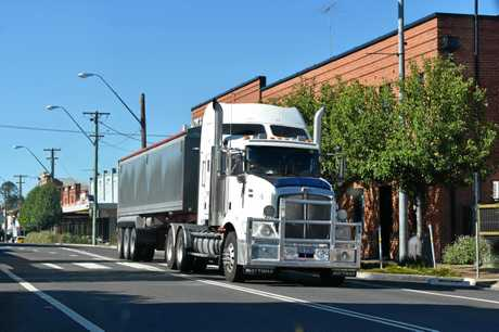 The future of truck movements around Coffs Harbour is a major consideration of the bypass concept design.