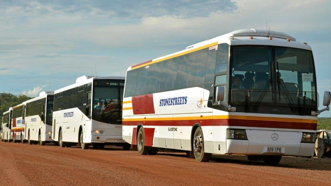 CONVOY: There will be fewer Stonestreets buses in Gladstone but the company is not leaving town.