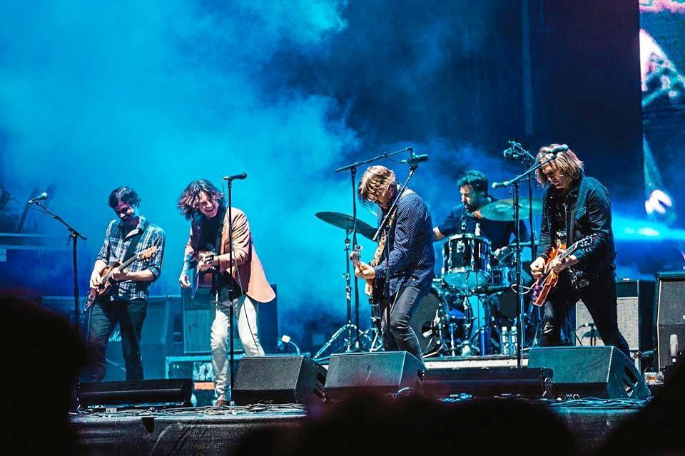 LIVE MUSIC: Byron resident Bernard Fanning reunites with Powderfinger at Splendour in the Grass 2017.
